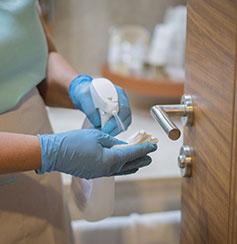 all rooms sanitized - Ramada Plaza by Wyndham Portland