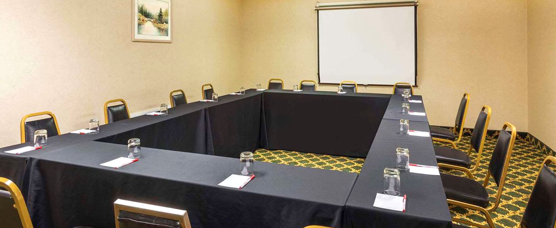 Meeting space available at Ramada Plaza by Wyndham Portland